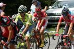 Daniel Navarro und Thomas De Gendt sind auch wieder in der Spitzengruppe dabei