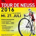 Nach-Tour-Kriterien: Große Überraschung bei der Tour de Neuss durch Dominik Bauer vom RSC Rheinbach