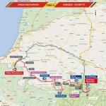 Streckenverlauf Vuelta a España 2016 - Etappe 14