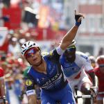 Der Sprint-Überflieger der Vuelta 2016: Gianni Meersman gewinnt nach der 2. auch die 5. Etappe