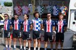 Team USA U23 bei vorm Start der 3. Etappe