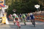 Sprint um den Sieg beim Rennen Gran Piemonte