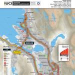 Strecken der Straßen-Weltmeisterschaft 2017 in Bergen: Straßenrennen, Rundkurs in Bergen
