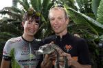 Alice Pirard mit Partner Michiel van Aelbroeck (Foto: Crocodile Trophy/Regina Stanger)
