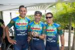 Martin Wisata (links) - Crocodile Trophy Nummer 7 für den Rekordhalter der meisten Veranstaltungen in der Geschichte des Rennens (Foto: Crocodile Trophy/Regina Stanger)