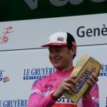 Sander Armee als Sieger der Bergwertung bei der Tour de Romandie 2016