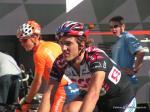 Fabian Cancellara auf dem Weg zur 2. Etappe der Tour de Suisse 2006