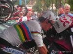 Fabian Cancellara als ZF-Weltmeister bei der Deutschland-Tour 2007