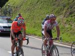 Fabian Cancellara auf dem Weg nach Verbier bei der Tour de Suisse 2008