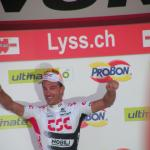 Fabian Cancellara Etappensieger in seinem Trainingsgebiet bei der Tour de Suisse 2008