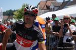 Fabian Cancellara am Start der 8. Etappe der Tour de Suisse 2012