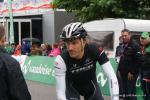 Fabian Cancellara auf dem Weg zum Start der Schweizer Meisterschaften 2014