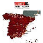 Präsentation Vuelta a España 2017: Streckenkarte