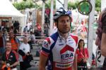 der neue Schweizer Meister im Cross Julien Taramarcaz hier am Start der Schweizer Straßen-Meisterschaften 2016