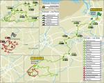Streckenkarte von Ronde van Vlaanderen 2017