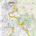 Streckenkarte von Paris - Roubaix 2017