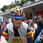 Tom Boonen im Trikot des belgischen Meisters bei der Tour de Suisse 2010