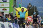 Sieg von Michele Scarponi auf der Hungerburg (Foto: Tour of the Alps)
