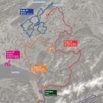 Streckenverlauf Tour de Romandie 2017