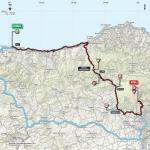 Streckenverlauf Giro d'Italia 2017 - Etappe 4