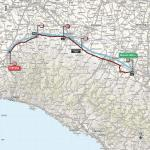 Streckenverlauf Giro d'Italia 2017 - Etappe 13