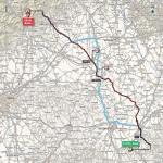 Streckenverlauf Giro d'Italia 2017 - Etappe 14