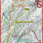 Streckenverlauf Le Tour de Savoie Mont Blanc 2017
