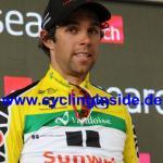 Etappensieger Michael Matthews ist auch neuer Träger des Gelben Trikots