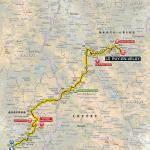 Streckenverlauf Tour de France 2017 - Etappe 15