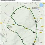 Streckenverlauf Nationale Meisterschaften Niederlande 2017 - Einzelzeitfahren