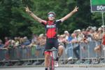 Solo-Sieger Silvan Dillier auf der Zielgeraden des Meisterschaftsrennens
