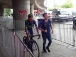 Nairo Quintana (Movistar) bei der Teampräsentation der Tour de France 2017 in Düsseldorf. Foto: LIVE-Radsport.com