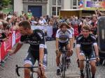 Bora-hansgrohe (u.a. Weltmeister Peter Sagan) bei der Teampräsentation der Tour de France 2017 in Düsseldorf. Foto: LIVE-Radsport.com