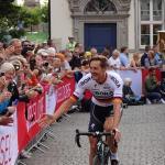 Marcus Burghardt (bora-hansgrohe) bei der Teampräsentation der Tour de France 2017 in Düsseldorf. Foto: LIVE-Radsport.com
