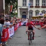 André Greipel (Lotto-Soudal) bei der Teampräsentation der Tour de France 2017 in Düsseldorf. Foto: LIVE-Radsport.com