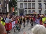 Lotto-Jumbo bei der Teampräsentation der Tour de France 2017 in Düsseldorf. Foto: LIVE-Radsport.com