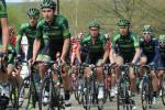 mit seinen Teamkollegen im Rennen Lüttich-Bastogne-Lüttich 2015