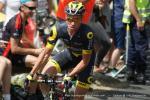 beim Bergzeitfahren der Tour de France 2016