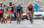 Riccardo Zoidl sprintet bei der Ö-Tour 2017 um den Glocknerkönig (Foto: Expa/Felbermayr Simplon Wels)