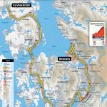 Streckenverlauf Straßen-Weltmeisterschaft 2017 - Mannschaftszeitfahren Männer Elite