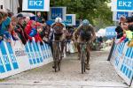 Sprint Elite Herren zwischen Nicola Rohrbach und Klaas Vantornout (Foto: radsportphoto.net/Steffen Müssiggang)