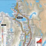 Streckenverlauf Straßen-Weltmeisterschaft 2017 - Einzelzeitfahren Junioren
