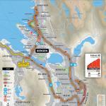 Streckenverlauf Straßen-Weltmeisterschaft 2017 - Straßenrennen Männer U23