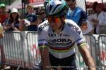 Der unverändert alte und neue Weltmeister Peter Sagan, hier bei der 2. Etappe der Tour de Suisse 2017 (Foto: Christine Kroth)