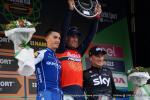 das Podium der 111. Austragung des Rennens Il Lombardia