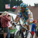 Alberto Contador bei der Tour de France 2010