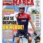 Angliru-Cover der Marca (Quelle: twitter.com/marca)