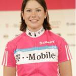 Suzanne de Goede holte ihren ersten Sieg für T-Mobile. (Fotoquelle: http://www.t-mobile-team.com)