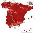 Präsentation Vuelta a España 2018: Streckenkarte