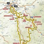 Streckenverlauf Liège - Bastogne - Liège 2018